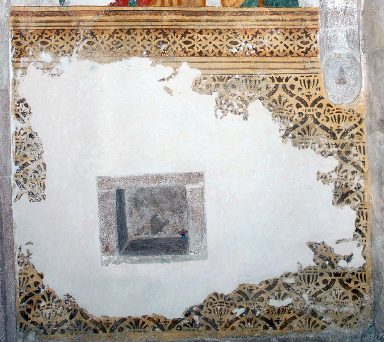 Wall Paintings In The Sanctuary Of St Matthew S Church In